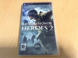 Juego PSP - Medal Of Honor Heroes 2