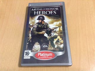 Juego PSP - Medal Of Honor Heroes