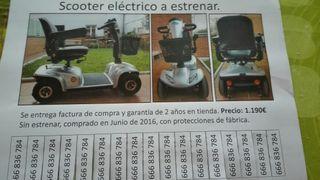 Scooter eléctrico a eatrenar