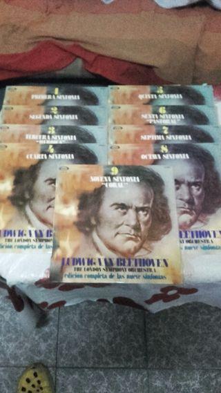 Ludwig Van Beethoven - las nueve sinfonias 9×lp