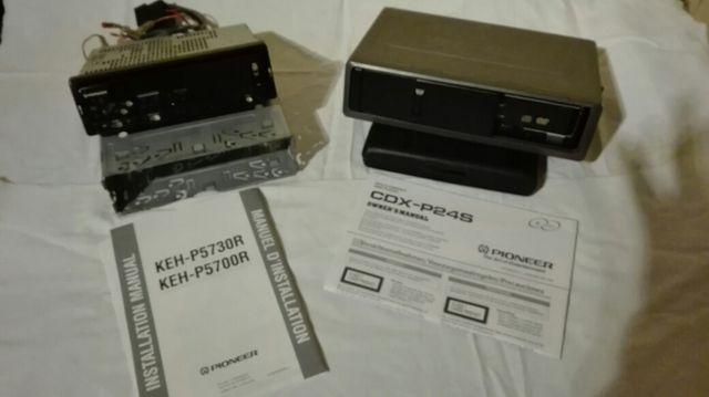 RADIO CD/DVD PIONEER COCHE