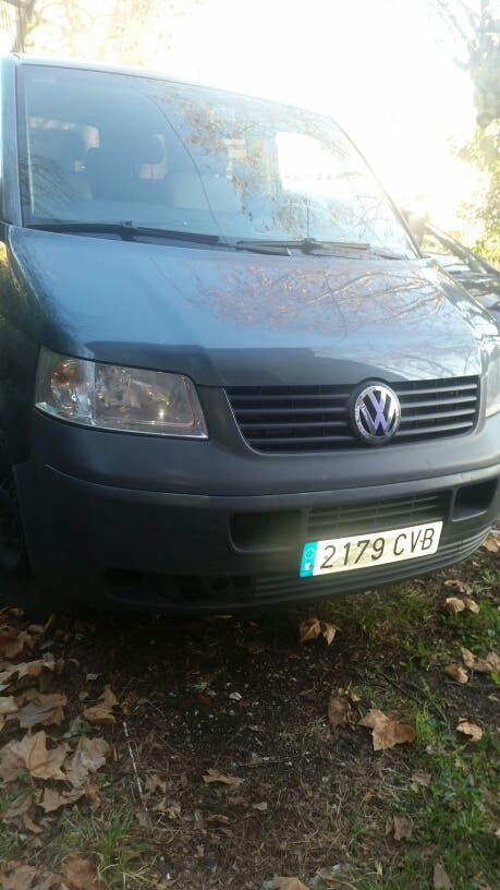 Furgoneta Volkswagen del 2004