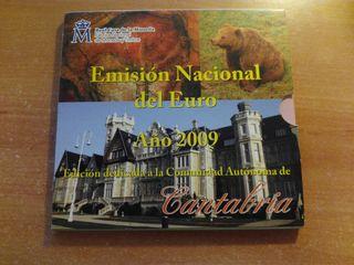 Cartera Nacional del Euro 2009 - Cantabria
