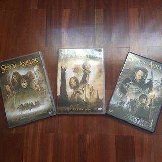 """Peliculas dvd """"señor de los anillos"""""""