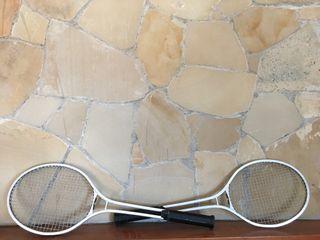 Raquetas de tennis vintage