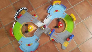 Scalextric moto marca chicco