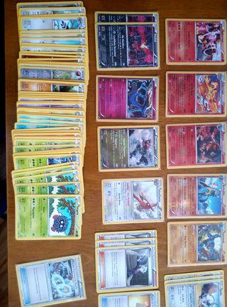+100 cartas Pokémon