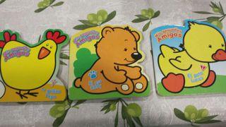 Juego de 3 libros infantiles