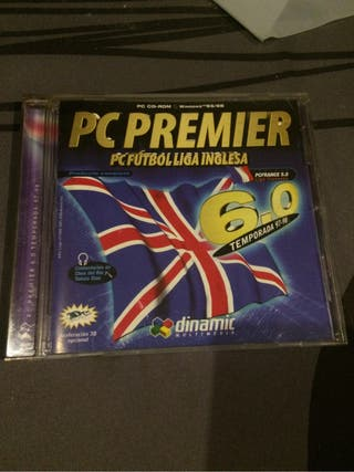 Manager futbol PC Premier 6.0