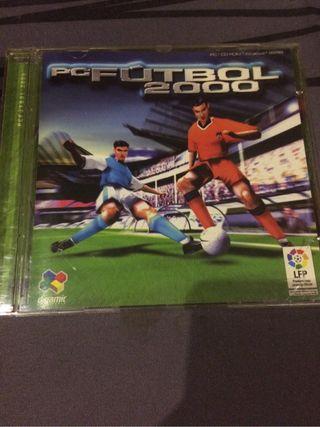 Manager futbol PC Futbol 2000