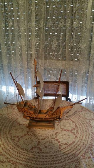 Barco maqueta velero