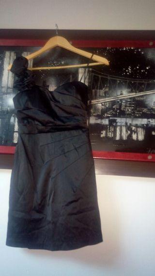 Vestido coctel noche negro