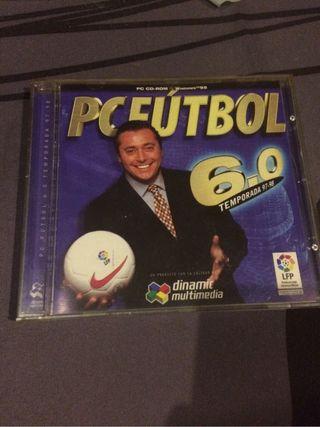 Manager futbol PC Futbol 6.0
