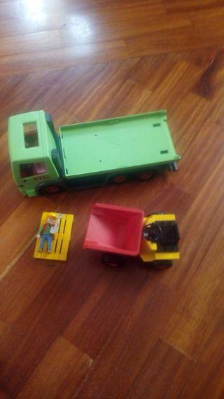 Camion para dumper de playmobil obras
