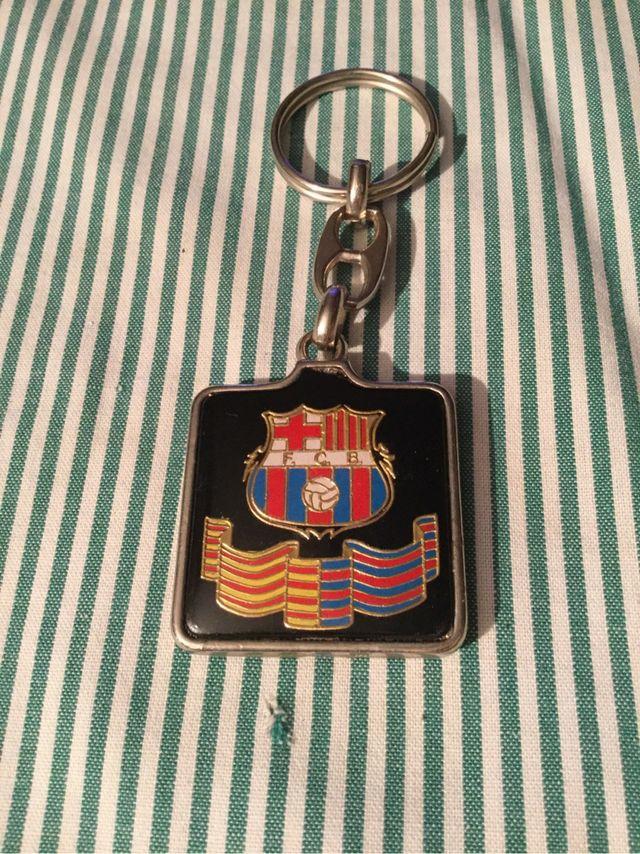 Llavero FC Barcelona con refran de segunda mano por 5 € en Sant ... 3320ee51532