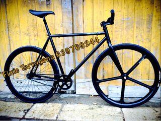 Bicicleta Fixie con llanta de palos solo 5 unidade