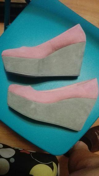 Zapato plataforma. 38