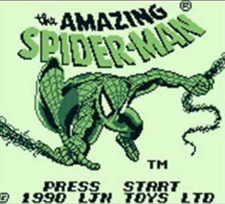 The Amazing Spiderman Gameboy
