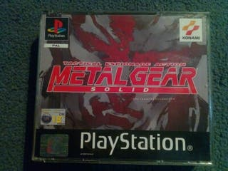 Metal gear solid para play station