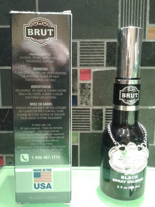 Brut for men black, made in USA
