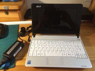Portátil netboock Acer Aspire One