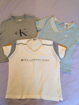 Camisetas de marca talla 38