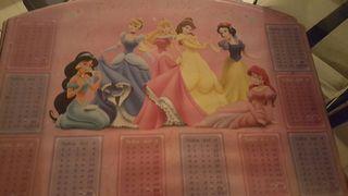 Tabla sobremesa de escritorio princesas Disney