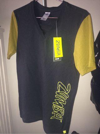 camiseta zumba