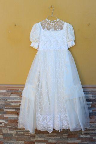 Traje vestido comunión