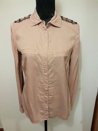 Camisa Promod military style