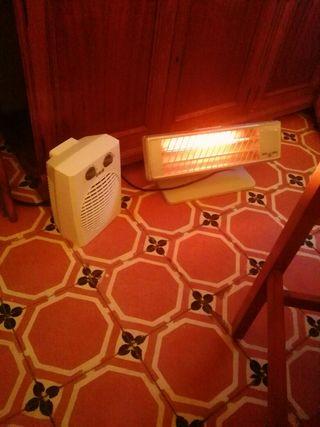 Calentador de aire caliente