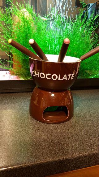 Fundie de chocolate sin estrenar