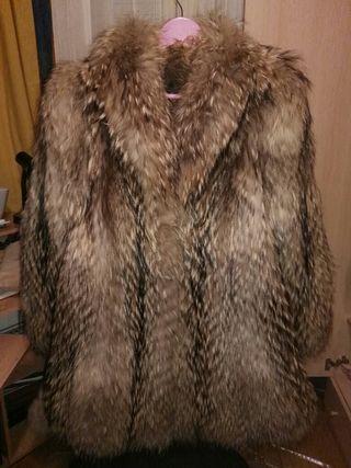 REBAJADOAbrigo de Racoon (marmota) finlandés