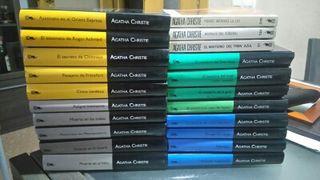 Lote Libros Agatha Chrisie