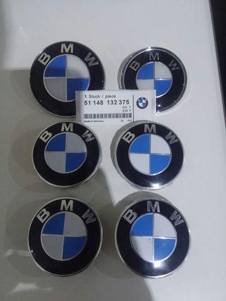 Kit 7 emblemas BMW