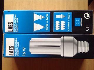 2 x bombillas Bajo Consumo