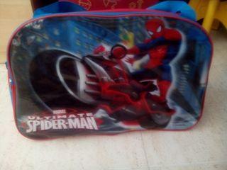 Bolsa mochila spiderman nueva