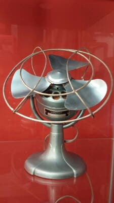 Ventilador vintage. FUNCIONA