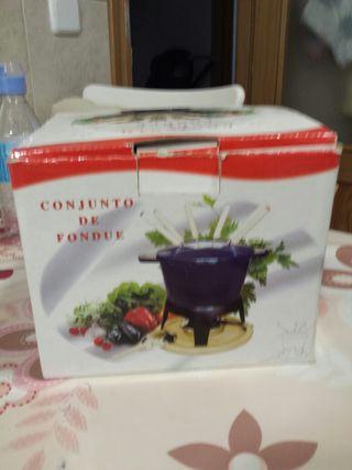 Conjunto de fondue