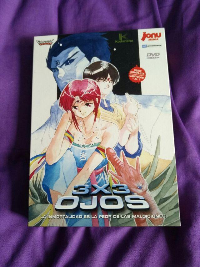 3x3 OJOS, serie completa, edición coleccionista
