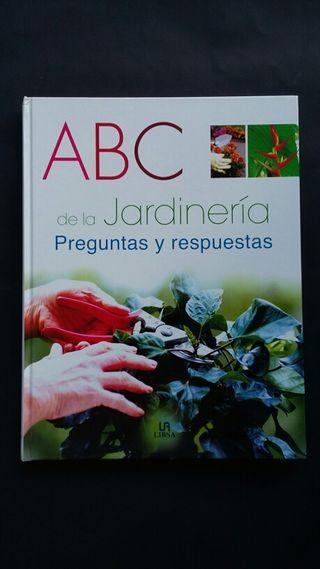 """""""ABC DE Jardinería """" libro gran formato."""