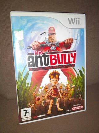 THE ANTBULLY, videojuego, Wii, NINTENDO, Pal.