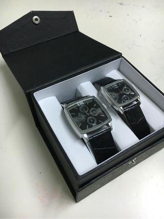 Lote reloj caballero y señora