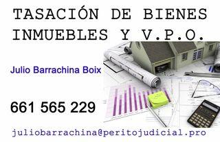 Perito Judicial Tasador Bienes Inmuebles y V.P.O.