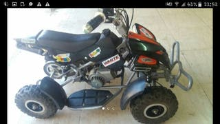 Vendo mini quad de 49cc