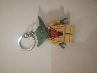 Llavero Yoda guerra de las galaxias Lego