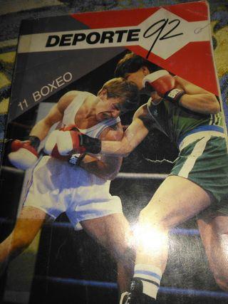 Libro de boxeo