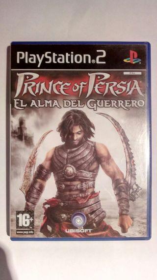 PRINCE OF PERSIA EL ALMA DEL GUERRERO PS2
