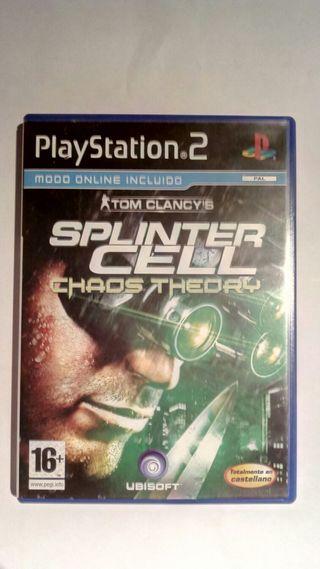 SPLINTER CELL CHAOS THEORY PS2