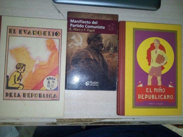 Pack libros de comunismo y República